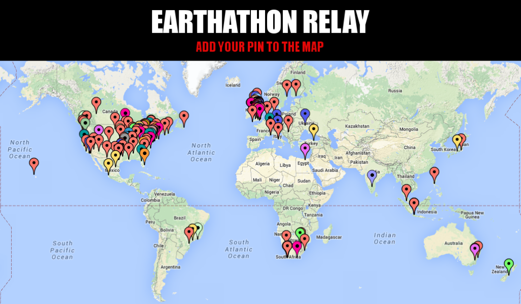 Earthathon Map