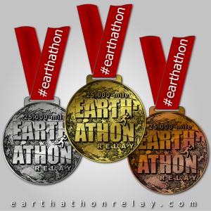 earthathon medals